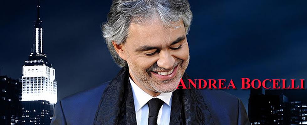 Plantilla Andrea Bocelli