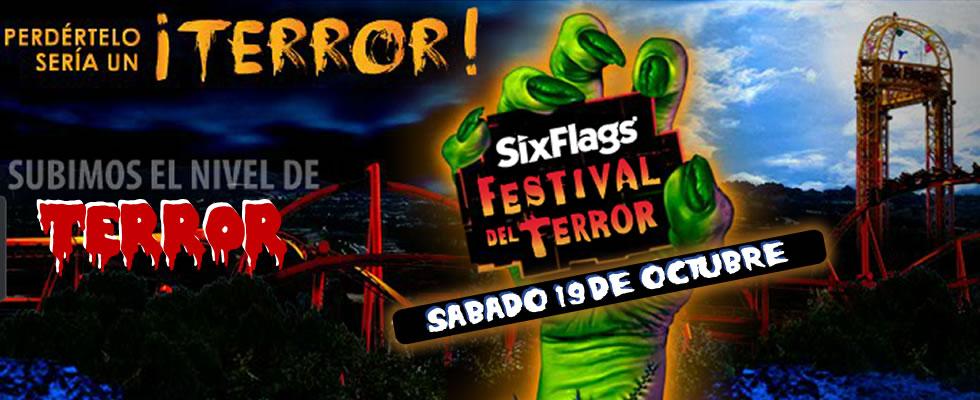 Plantilla Festival del Terror 2013